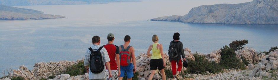 Jadranje -  Treking Krk