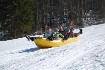 Snežni rafting