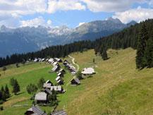 Walking tours Slovenia