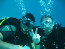 Adventure holidays in Slovenia - Diving in Slovenian sea
