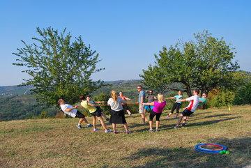 Motivacijski trening v slovenski Istri