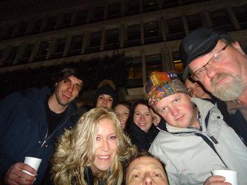 Zimski Urban Hunt v Ljubljani