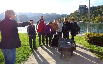 Urban Hunt na Bledu