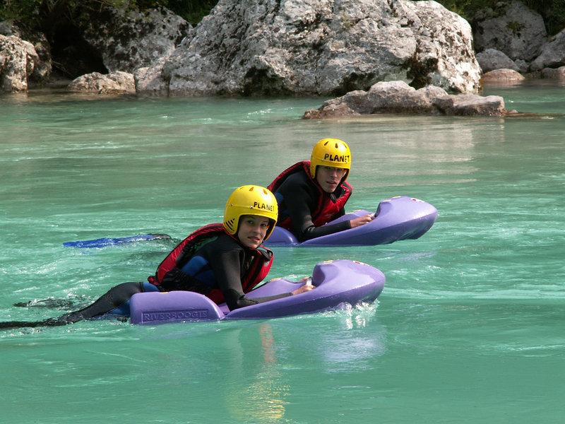 Adrenalinski športi - Hydrospeed - rečni bob