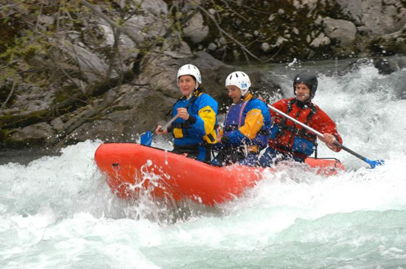 Rafting Sava - Sava Bohinjka - Slovenia