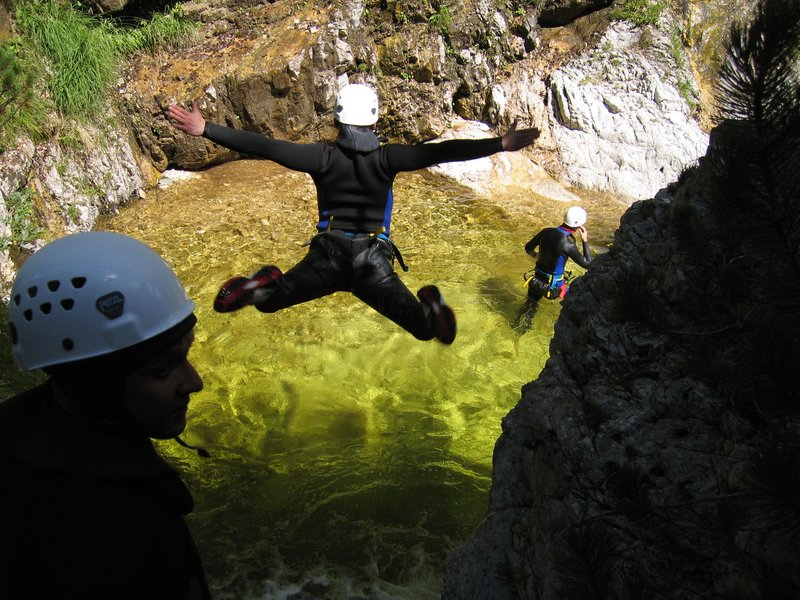 Fratarica Canyoning