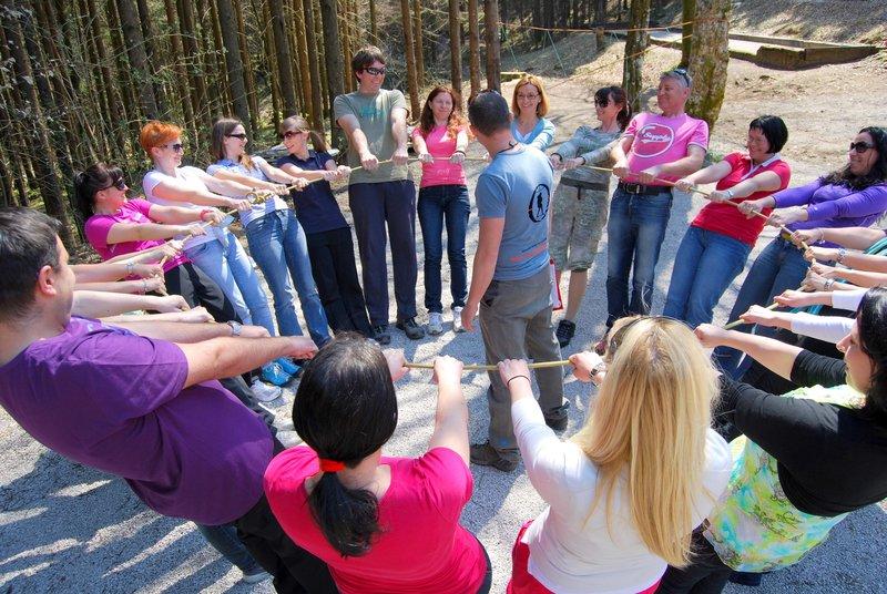 На и тренинг сплочение знакомство коллектива мини