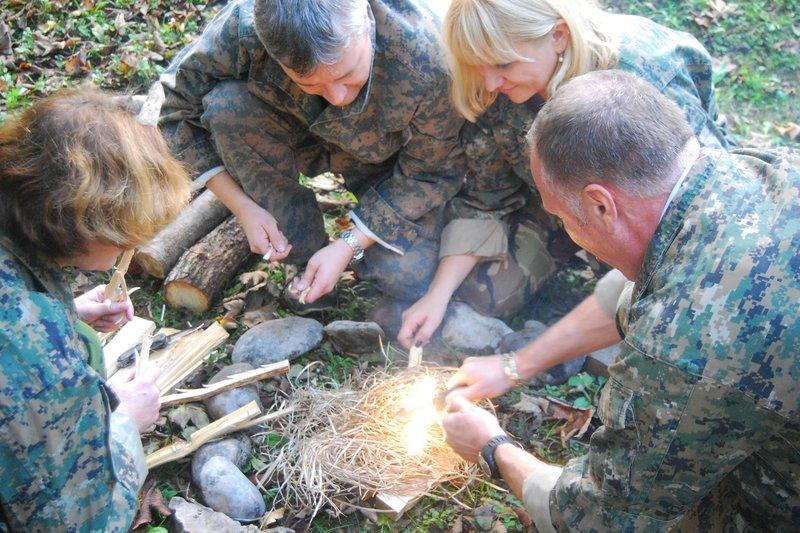 Preživetje v naravi netenje ognja