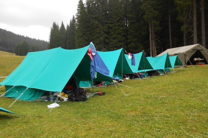 Preživetje v naravi večnevni tabor