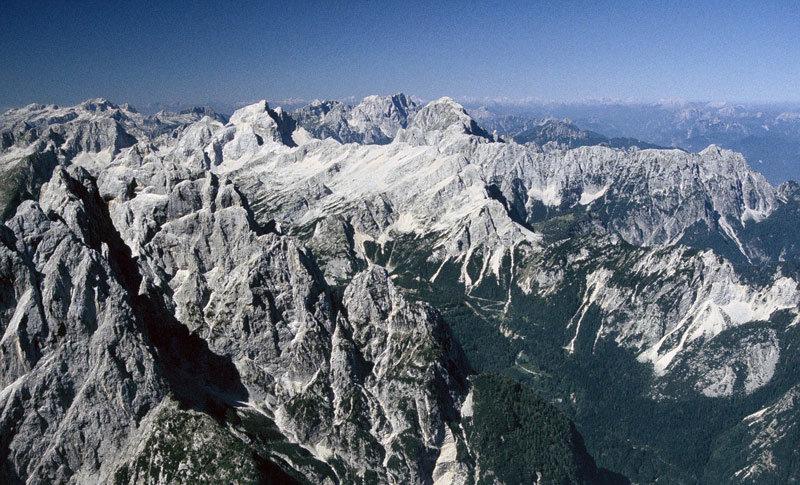 Slovenian mountains - Julian highest