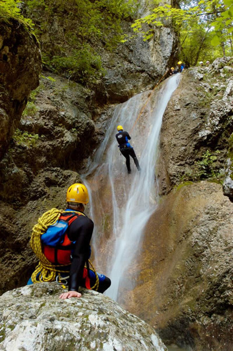 Canyoneering Slovenia - Bohinj - Grmečica