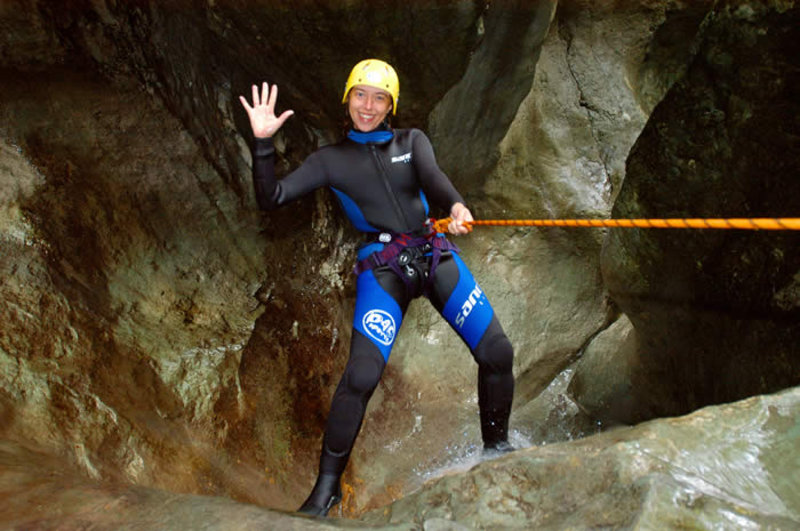 Canyoning adventure Bohinj - Jerečica