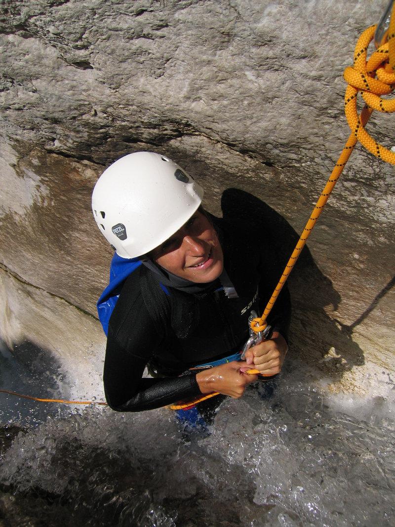 Fratarica Canyoning Slovenia