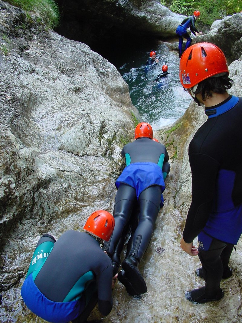 Canyoning in Bovec - Slovenia