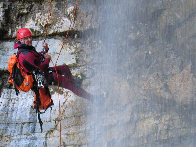 Outdoor activities Slovenia - Canyoning