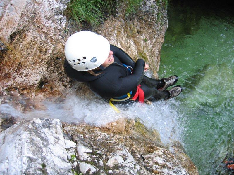 Canyoning - soteskanje - Predelnica, Bovec