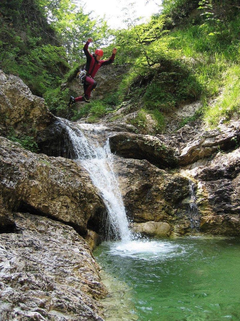 Canyoning - soteskanje, Grmečica, Bohinj