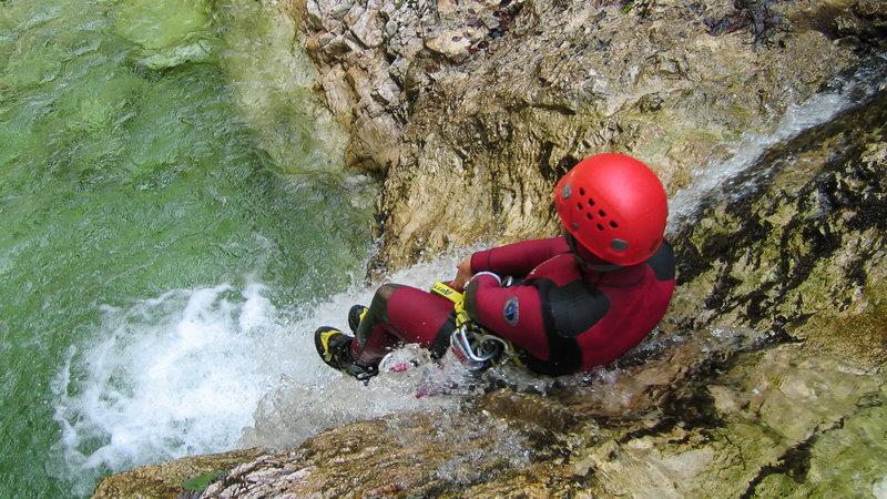 Canyoning - Bovec - Globoški potok