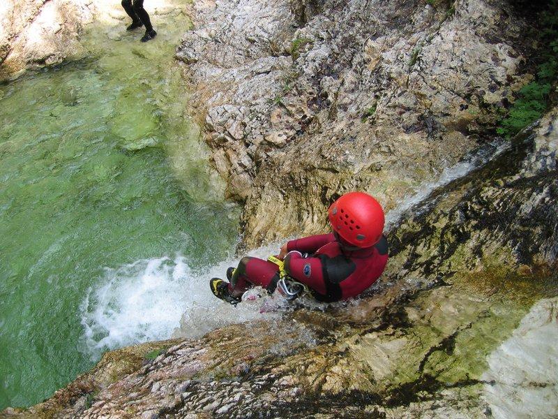Adrenalinski športi - Canyoning
