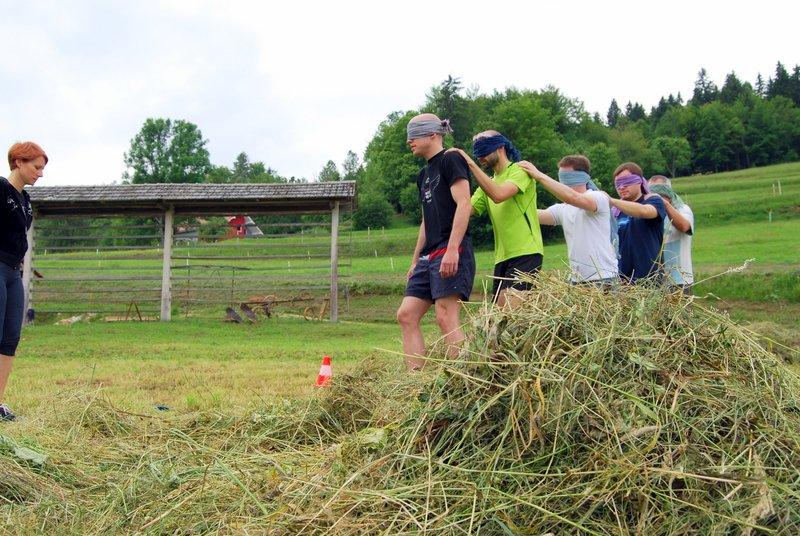 Team building Sherpa Walk