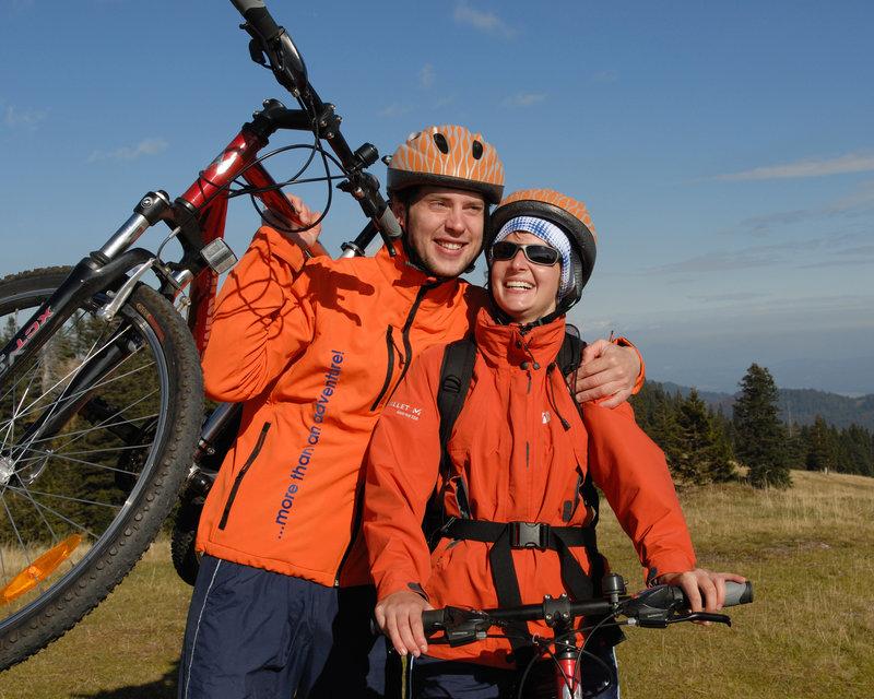 Kolesarska tura - Velika Planina