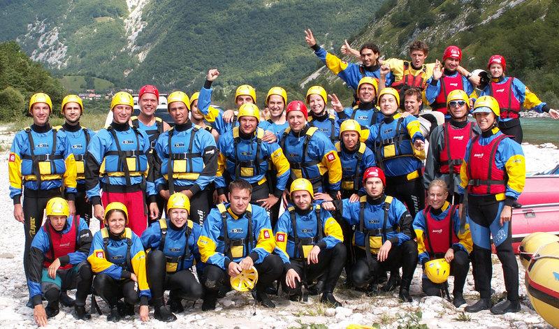 Rafting Bovec - Soča