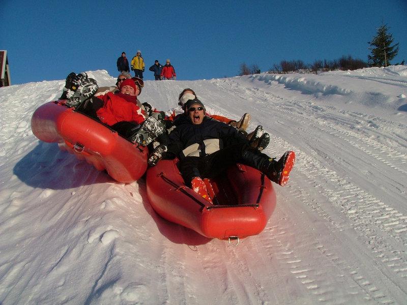 Rafting na snegu - Snežni adrenalin