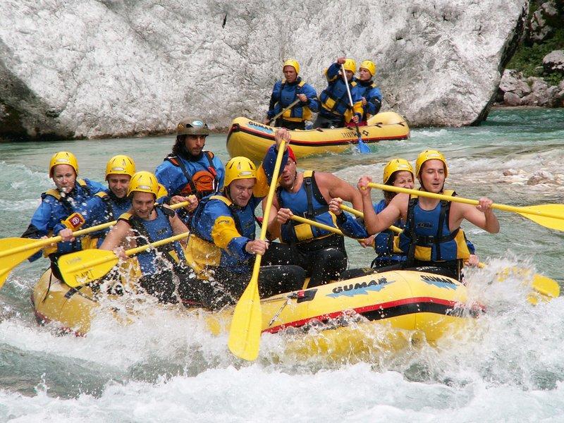 Rafting na Soči - Bovec