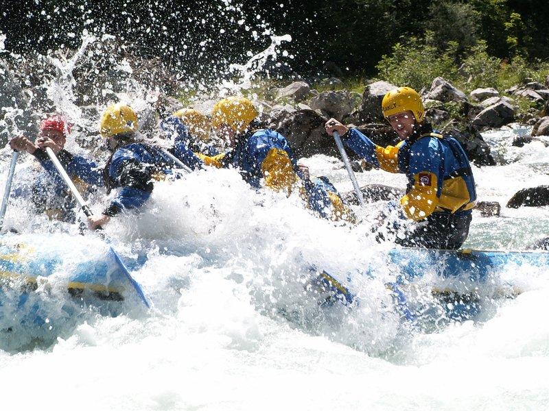 Rafting Soča - dolga