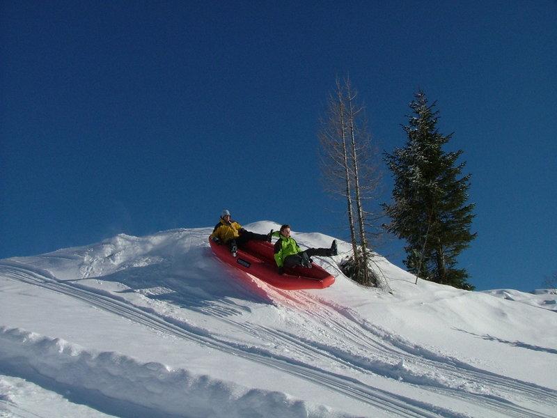 Snežni rafting - Vogl