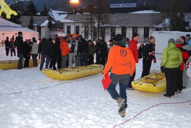 Snežni rafting - Kranjska Gora
