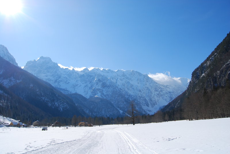 Winter holidays Slovenia - snowshoeing