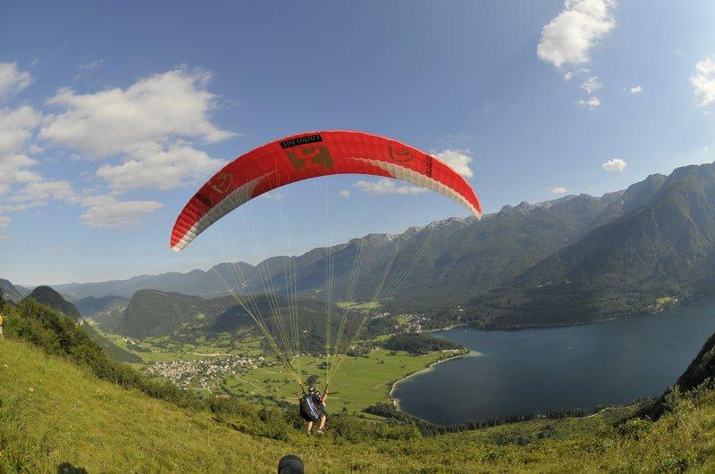 Slovenia tandem paragliding