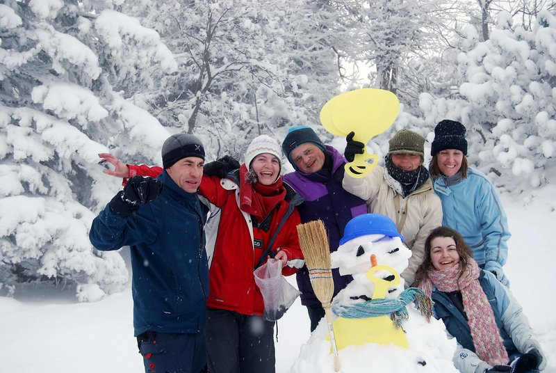 Team building za podjetje - zimske aktivnosti