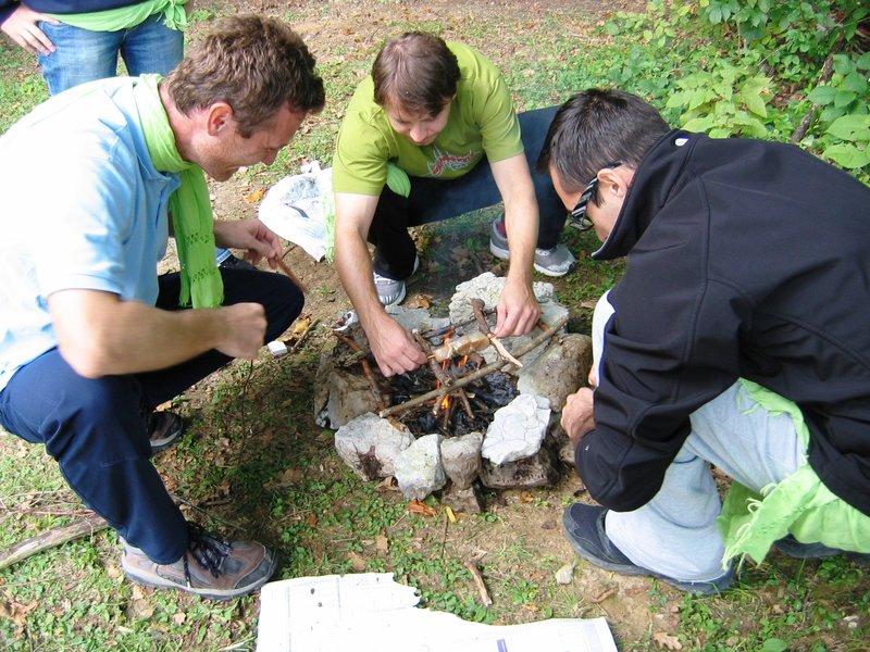Preživetje v naravi - Netenje ognja