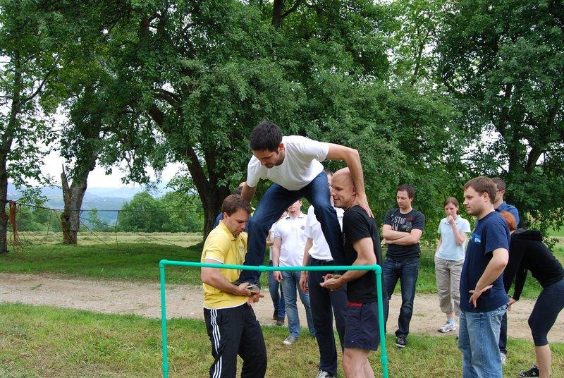 Team building Motivacijske igre električni pastir
