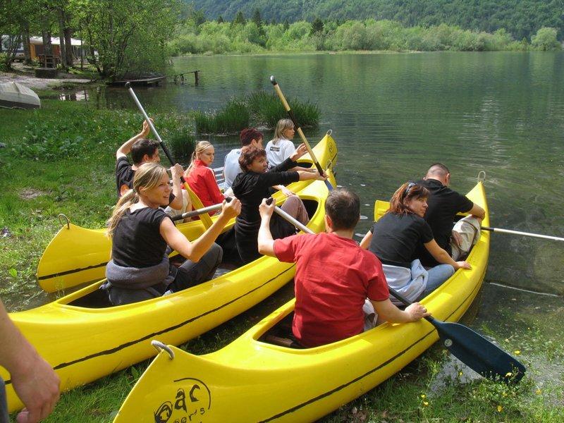 Team buiilding kanu