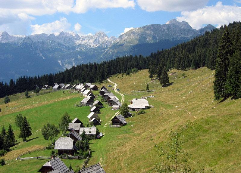 Trekking Slovenia - In the shade of Triglav