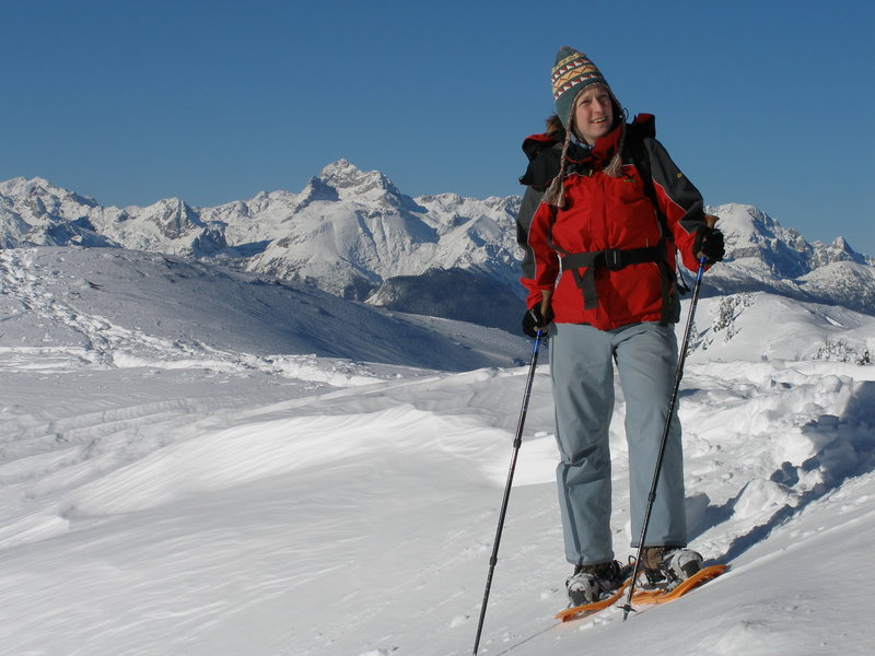 Snowshoeing trips Slovenia